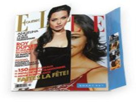 Harpers Bazaar Magazine-Gate Fold Advertising